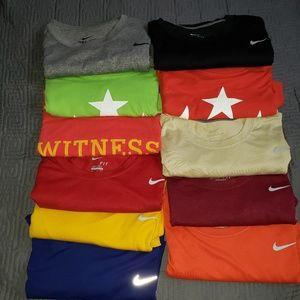 Nike Dri Fit Tee's